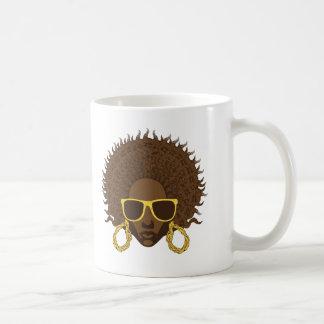 Afro Cool Basic White Mug