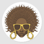 Afro Cool Stickers