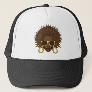 Afro Cool Trucker Hat