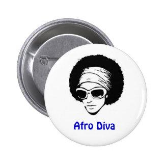 Afro Diva Pin