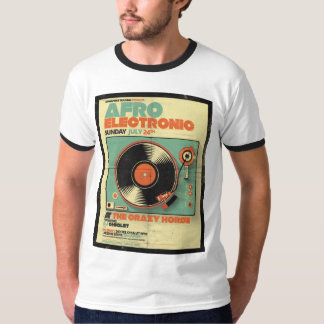 Afro Electronic Style T-Shirt