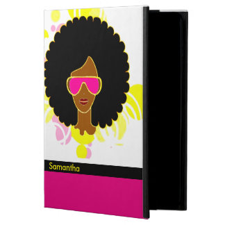 Afro Hair Pink Sunglasses iPad Air Case