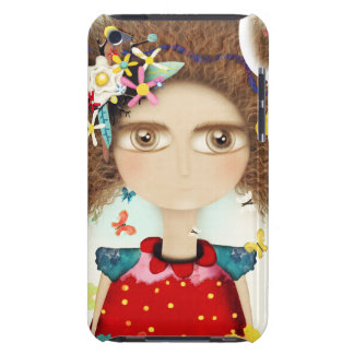 AFRO HAIR RUPYDETEQUILA DOLL HUGE EYES FLORAL BARELY THERE iPod COVERS