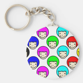 afro key chains
