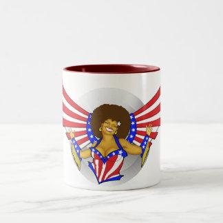 Afro Love Angel Mug