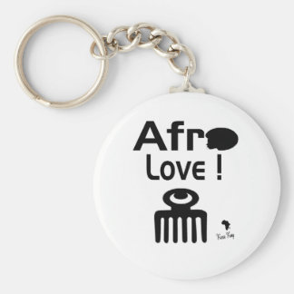 Afro Love with  DUAFE Key Ring