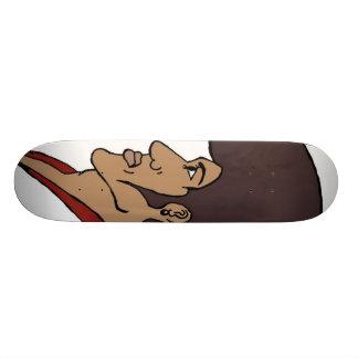 Afro Man Skate Deck