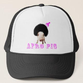 Afro Pig Trucker Hat