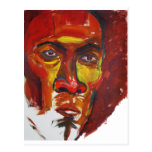 Afro Postcard