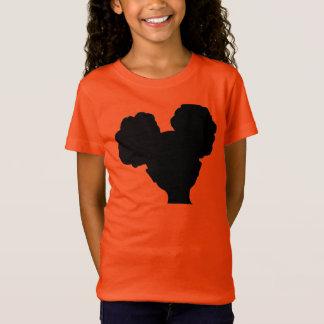 Afro puff shirt