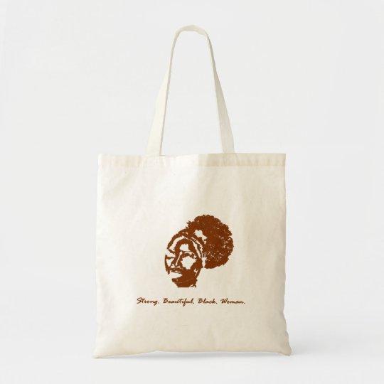 Afro Puff Sista Tote Bag