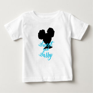 Afro Puffs | Sweet and Sassy | Natural Hair Baby T-Shirt