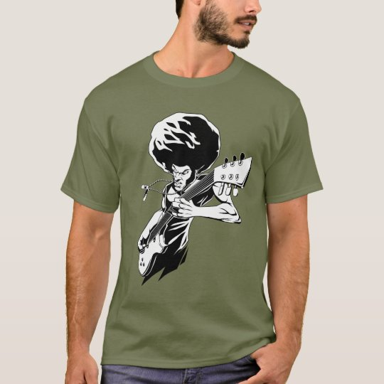 Afro rock guitarist T-Shirt