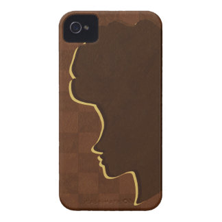 Afro Silhouette iPhone 4 Case-Mate ID