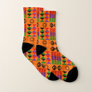 Afro Small All-Over-Print Socks 1