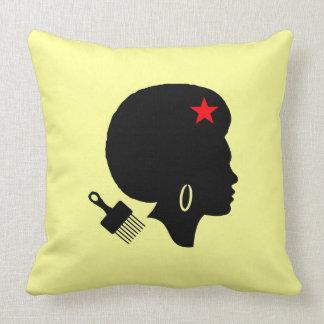 AFRO WOMAN Throw Pillow