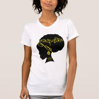 AFRO YELLOW TEE SHIRTS