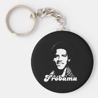 Afrobama Basic Round Button Key Ring