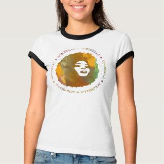 Afrobella Logo Ringer T-Shirt