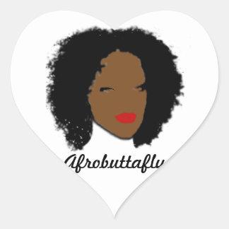 Afrobuttafly Sticker
