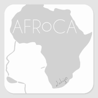 AFRoCA for men Square Sticker