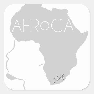 AFRoCA for men Square Sticker
