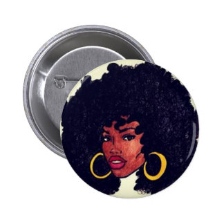 Afrocentric 6 Cm Round Badge