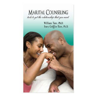 Afrocentric - Marital Counseling, Couples Therapy Double-Sided Standard Business Cards (Pack Of 100)