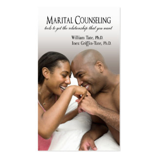 Afrocentric - Marital Counseling, Couples Therapy Business Cards