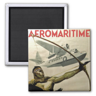 Afromaritime Square Magnet