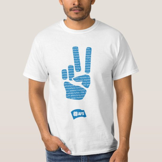 AFS Peace Sign Men's T T-Shirt