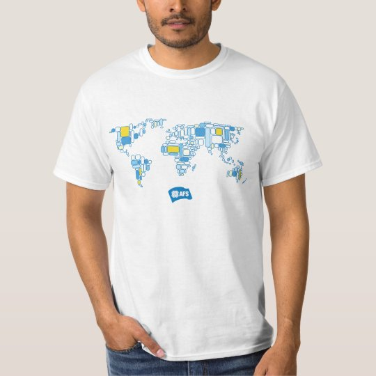 AFS World Map Men's T T-Shirt