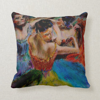 after degas the dancers cushion