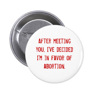After meeting you Button