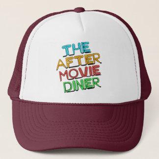 After Movie Diner Neon Logo Trucker Hat