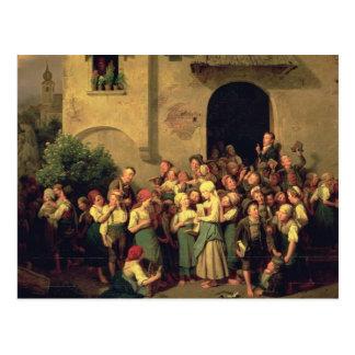 After School, 1844 Postcard