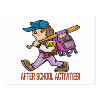 After School Activities Postcard