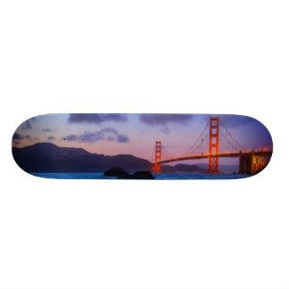 After sunset out at Baker Beach 21.3 Cm Mini Skateboard Deck