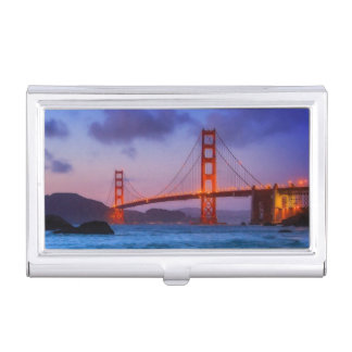 After sunset out at Baker Beach Business Card Holder