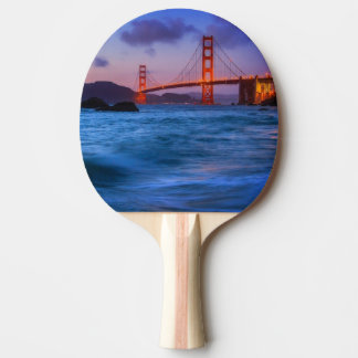 After sunset out at Baker Beach Ping Pong Paddle