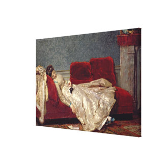 After The Ball, 1869 Canvas Print