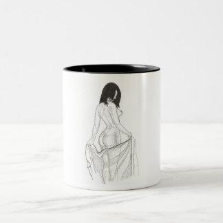 After the bath Two-Tone coffee mug
