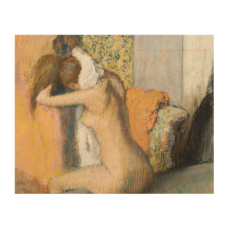 After the Bath, Woman Drying her Neck, 1898 Wood Prints