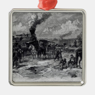 After the Battle of Seven Pines Christmas Ornament