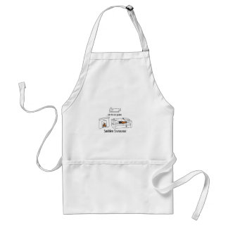 After the Kids are Down Standard Apron