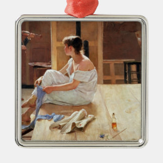 After the Pose, 1884 Christmas Ornament