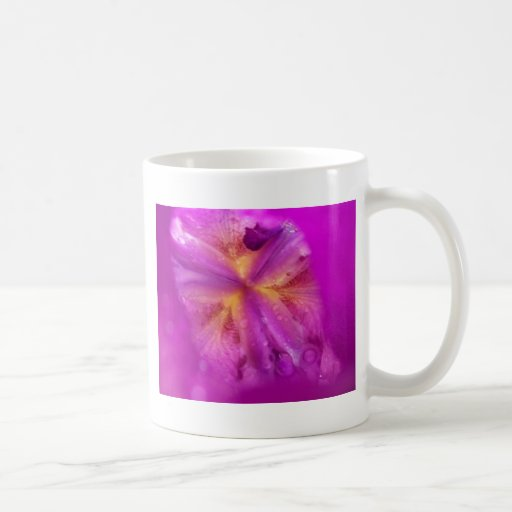 After the Rain - Abstract Flower Series 2 Coffee Mugs