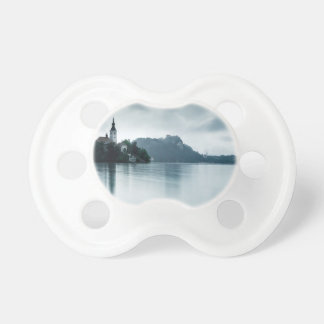 After the rain at Lake Bled Baby Pacifier