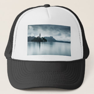 After the rain at Lake Bled Trucker Hat