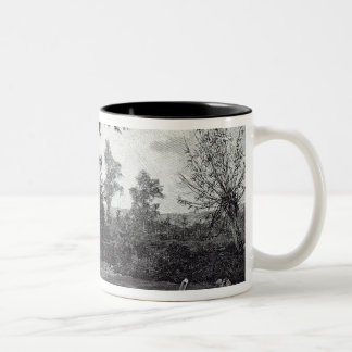 After the rain, from 'Leisure Hour', 1888 Two-Tone Coffee Mug